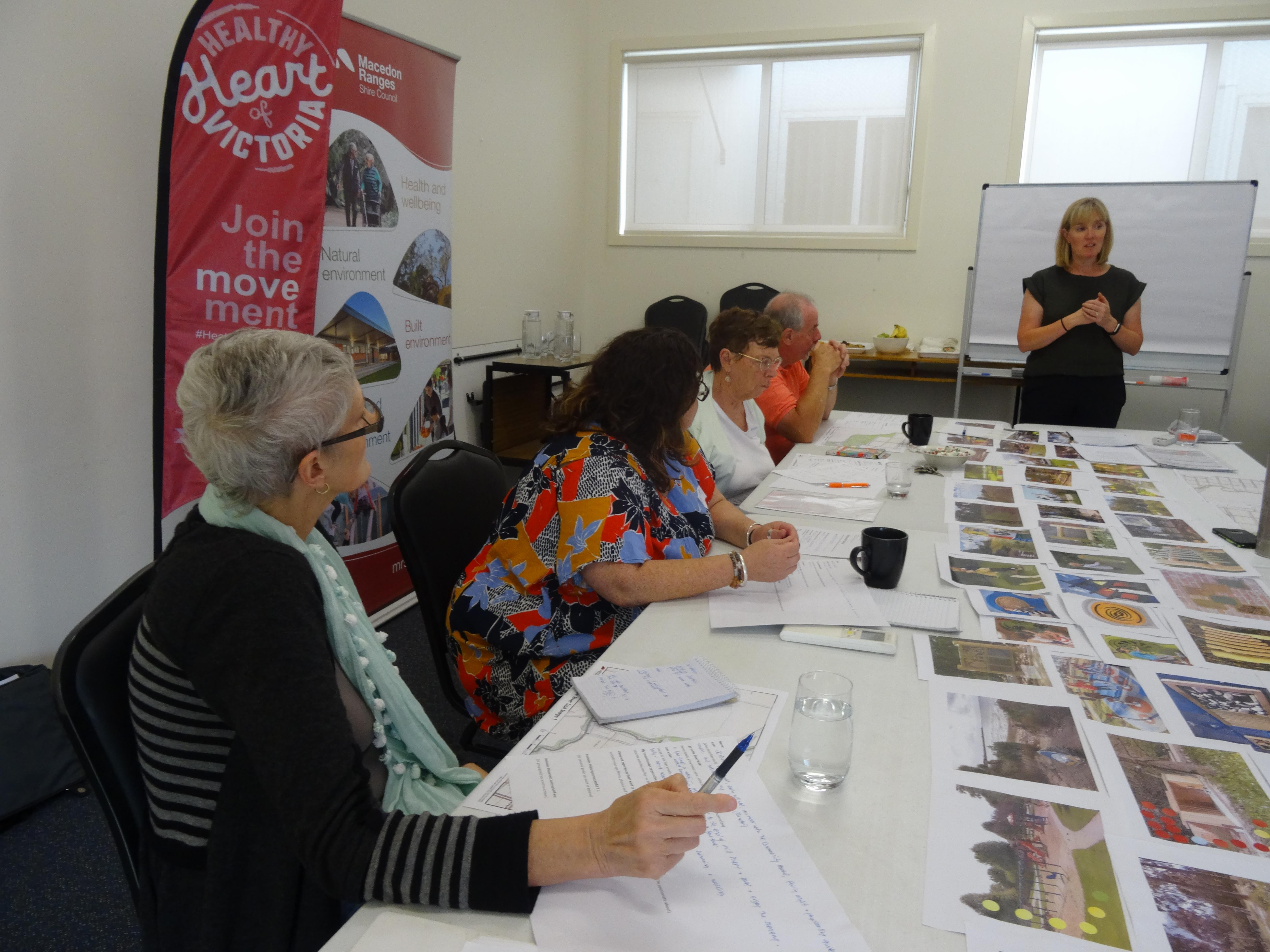 February meeting at Kyneton Community House
